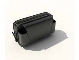 Wallet and phone bag 3d model preview