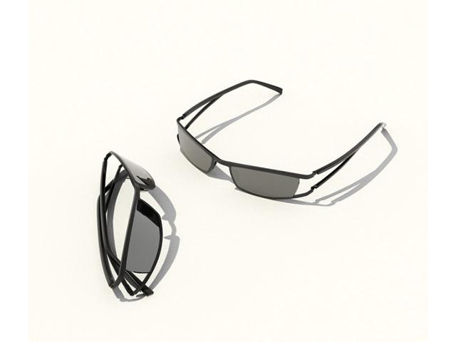 Fashion sunglasses 3d rendering