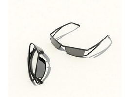 Fashion sunglasses 3d preview
