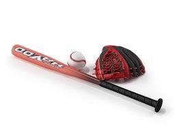 Softball bat and Softball sets 3d preview