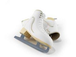 Ice hockey skate 3d preview