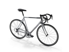 Racing bike 3d preview