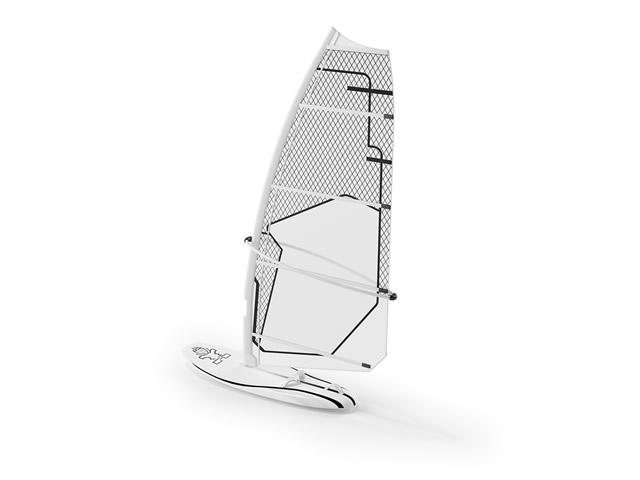 Sailing Surfboard 3d rendering