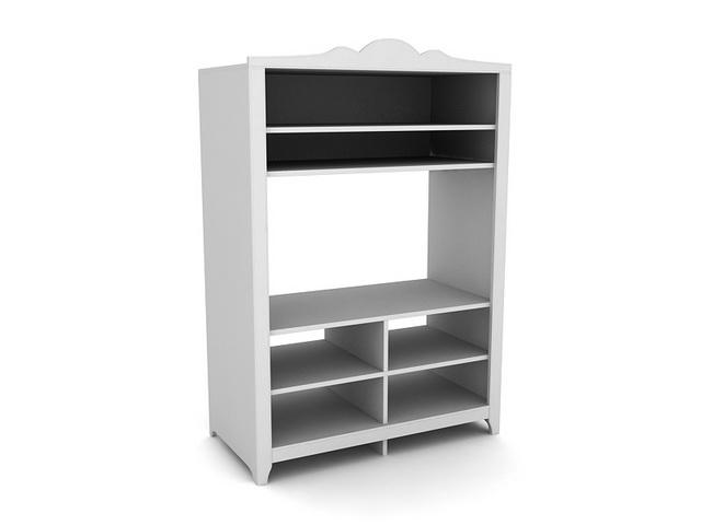 Home furniture tv cabinet 3d rendering