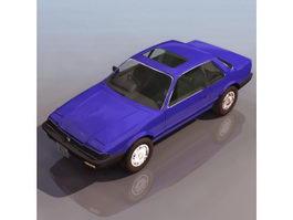 Honda prelude sport compact car 3d model preview
