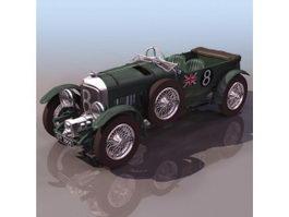 Bentley 8 Litre luxury car 3d model preview