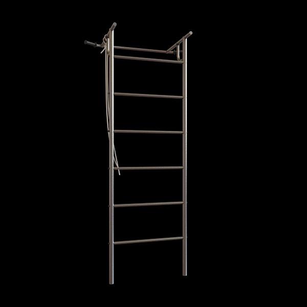 Metal climbing frame 3d rendering