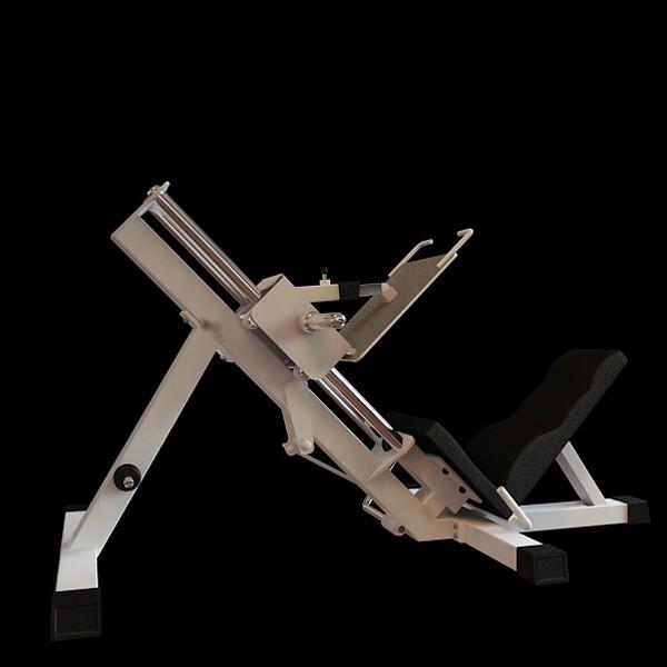 Incline leg press 3d rendering
