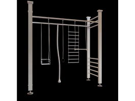 Climbing structure 3d model preview