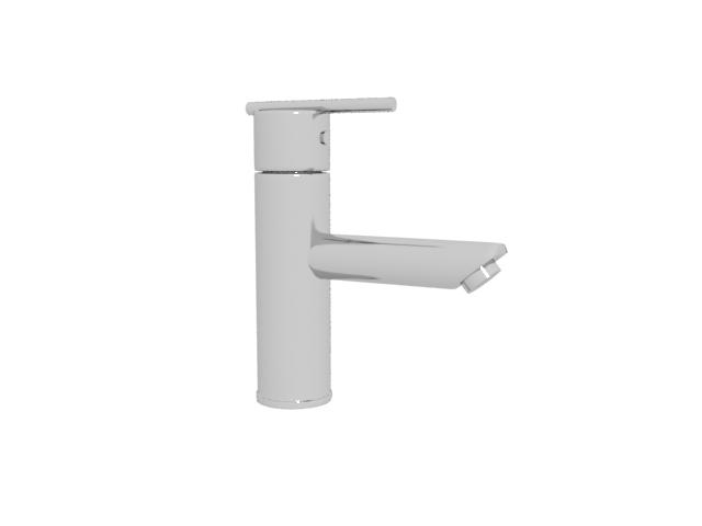 Bathroom basin faucet 3d rendering