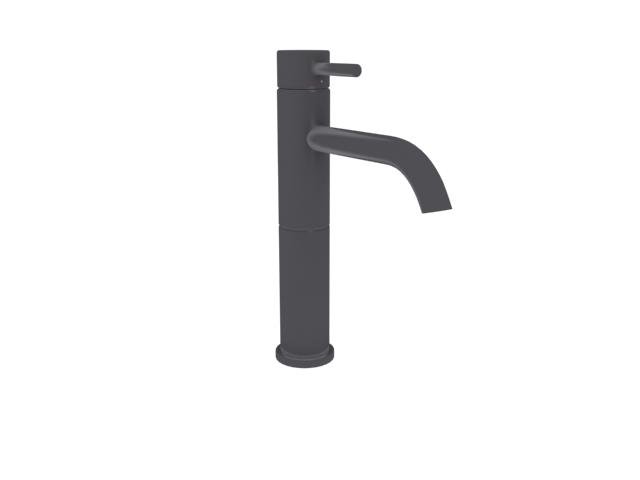 Single handle wash basin faucet 3d rendering