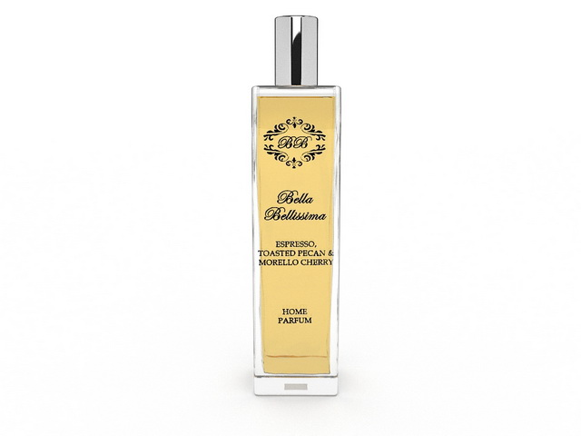 Bella Bellissima perfume 3d rendering