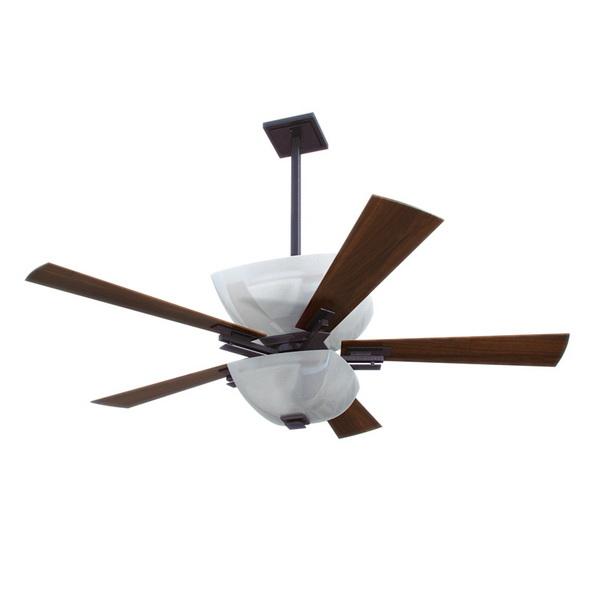 Ceiling fan lamp 3d rendering