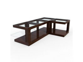 Combined coffee table 3d preview