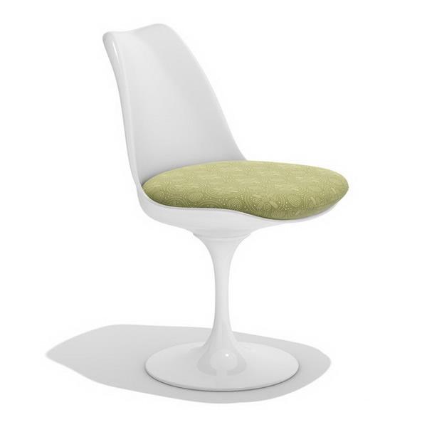 Tulip Side Chair 3d rendering