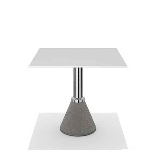 Outdoor bistro table 3d rendering