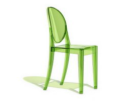 Philippe Starck ghost chair 3d preview