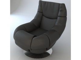 Modern lounge chair 3d preview