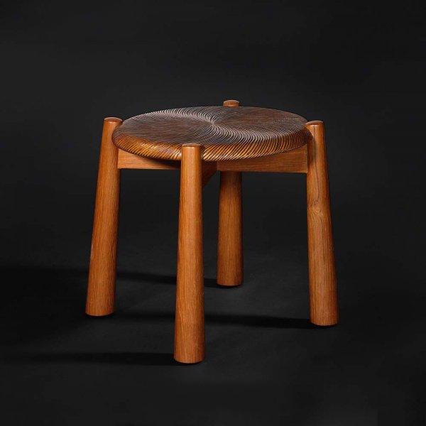 Chinese furniture dresser stool 3d rendering