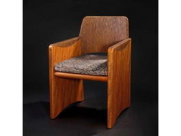 Chinese fauteuil chair 3d preview