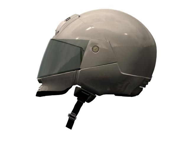 Shoei helmet 3d rendering