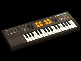 Casio SK-S keyboard 3d preview