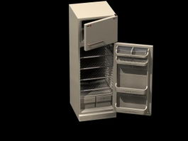 Home electric refrigerator 3d preview
