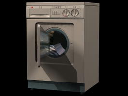 Laundry washer 3d preview