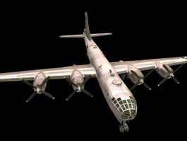Boeing B-29 Superfortress 3d preview