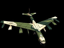 Boeing B-52 Stratofortress 3d preview