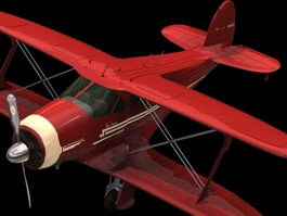 Beechcraft Model 17 Staggerwing 3d preview