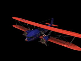 Curtiss B-2 Condor Heavy bomber 3d model preview