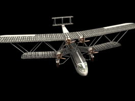 G-AAXC Heracles airliner 3d model preview