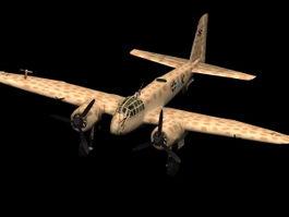 Junkers Ju 88 G-1 Heavy fighter 3d model preview