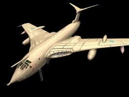 Victor KMk 2 strategic bomber 3D Model