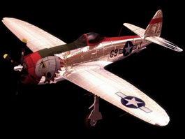 Thunderbolt Bubbletop P-47s 3d preview