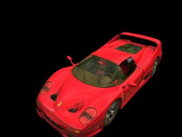 Ferrari F50 3d preview