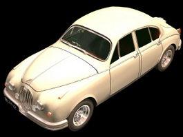 Jaguar Mark 1 saloon car 3d preview