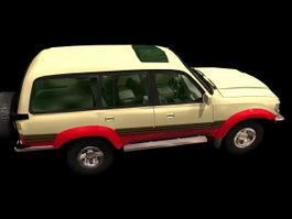 Toyota Land Cruiser 3d model preview