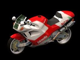 Bimota motorcycle 3d preview