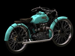 Bianchi motorcycle 3d preview