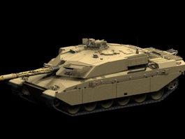 FV 4030 Challenger tank 3d model preview