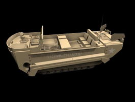 M29 Weasel tracked vehicle 3d model preview