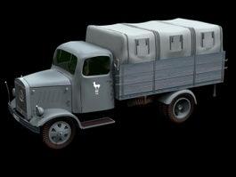Mercedes-Benz L3000 truck 3d model preview