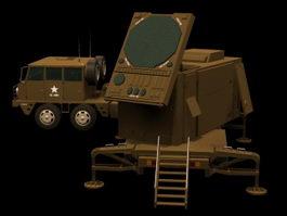 Patriot AN/MPQ-53 radar set 3d preview