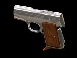 AMT Lightning pistol 3d model preview