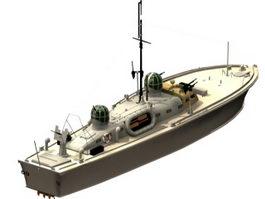 Crash rescue boat 3d preview