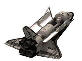 Space shuttle 3d preview