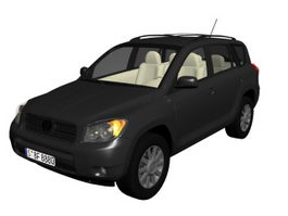 Toyota RAV4 compact SUV 3d preview