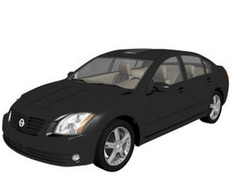 Nissan Maxima luxury car 3d preview